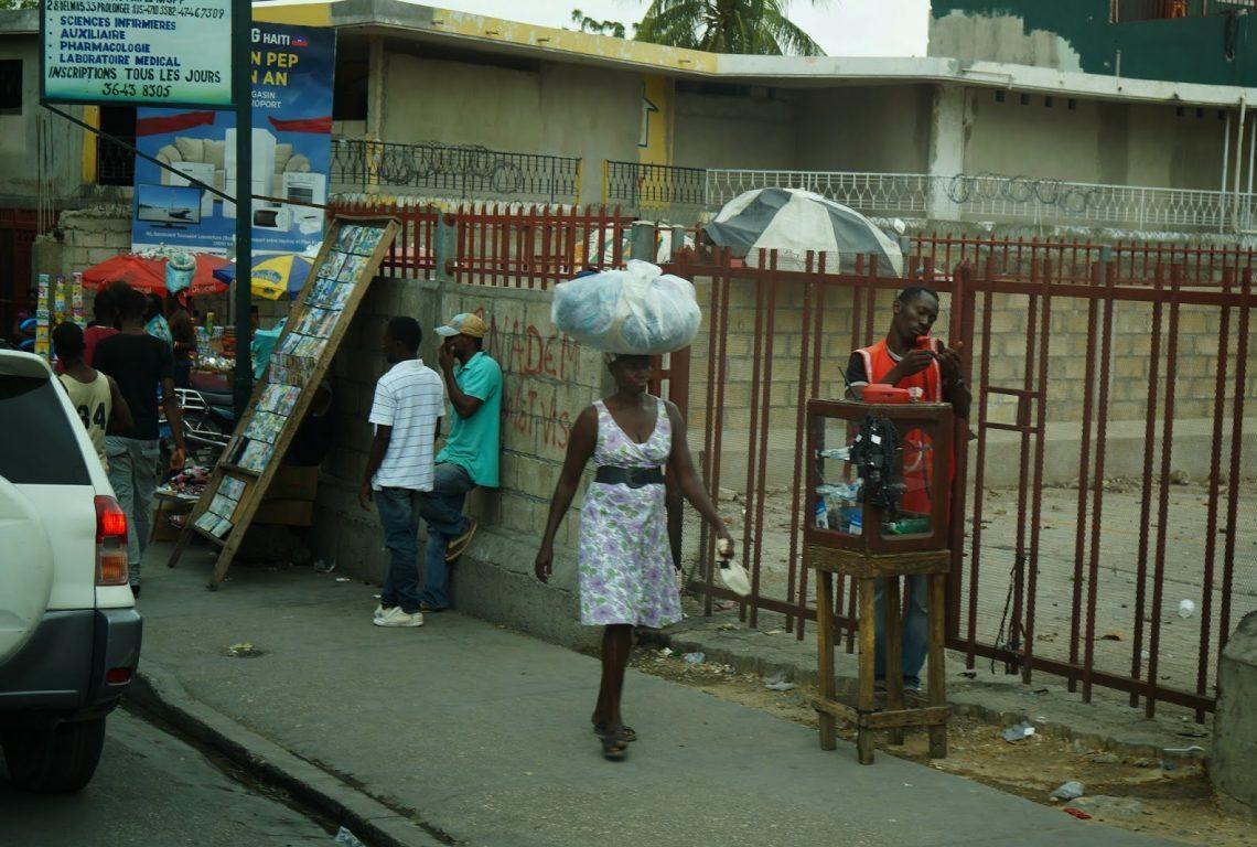 On Mission. Bordeaux Vineyards link to Haiti