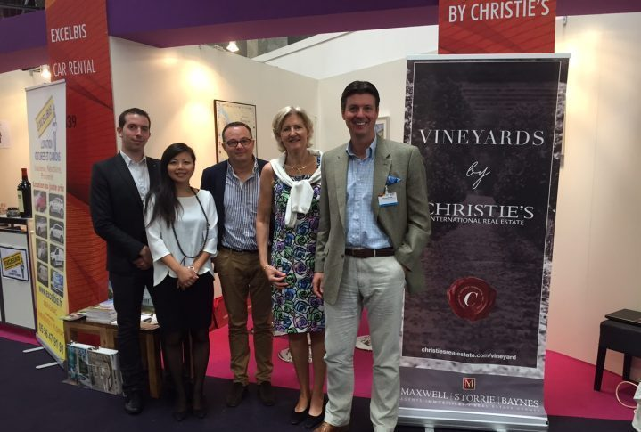 Vineyards by Christies Vineyards-Bordeaux at Vinexpo