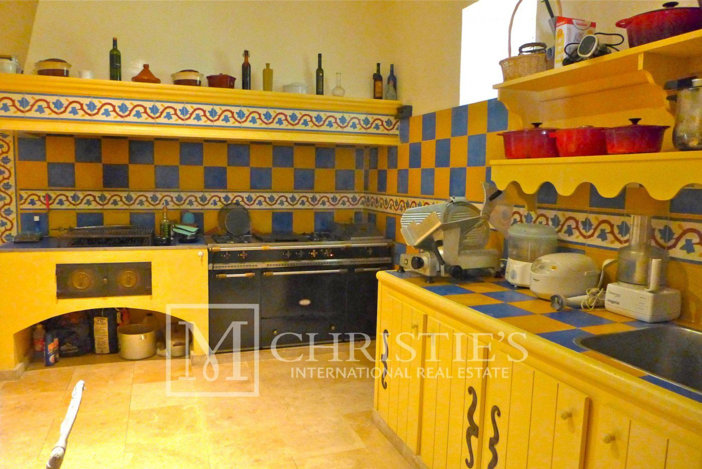 Kitchen, Tile - Domaine with Organic Vineyard In AOC Cahors