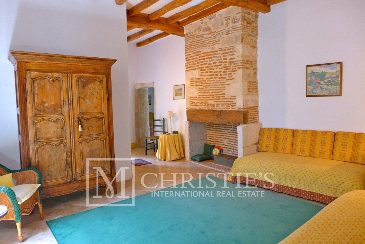 Bedroom - Domaine with Organic Vineyard In AOC Cahors
