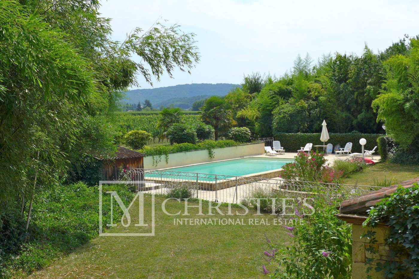 Swimming pool - Domaine with Organic Vineyard In AOC Cahors