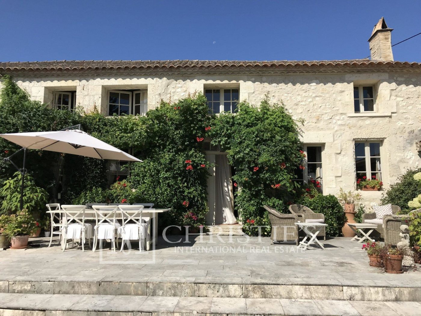 Attractive AOC Côtes-de-Duras vineyard with residence, gîte and swimming pool